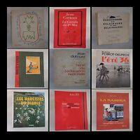 Lot de 9 livres Cocteau Dutourd Poirot-Delpech Perroux Gilles Gallimard Grasset