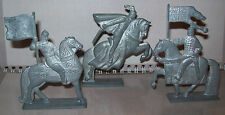 Set3pcs Vintage metal stannic Tin Toy Soldier CavalryDRAGOONS BATTLE OF THE ICE