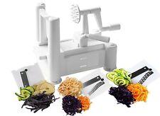 Cocina los alimentos vegetales Frutas spiralizer spiraliser Espiral Rebanador Cortador Chopper