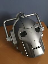 Doctor Who Cyberman Mask Helmet Sounds Prop Voice Changing Cybermen