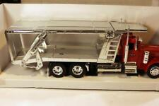 VINTAGE DIECAST- -PETERBILT AUTOCARRIER TRUCK - 1/32ND SCALE -BOXED- NEW- A1