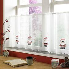 Noël brodé 150x45.7cm – 150 x 45cm cuisine café panneau-rideau