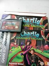 CHARLIE AND THE CHOCOLATE FACTORY Nintendo Gameboy Advance Cartridge & Manual DS