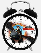 "How to Train Your Dragon Alarm Desk Clock 3.75"" Room Decor E64 Nice For Gift"