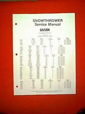 s l225 gilson outdoor power equipment manuals & guides ebay