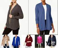 Karen Scott Sweater Open Front Cardigan  Various Sizes, Colors