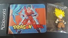 Dragon Ball Z wallet and key chain new