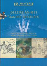 Catalogue Vente aux Enchères BD du 4.12.2010 Rossini