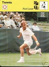 ROD LAVER 1977 FOCUS ON SPORTS CARD