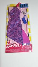 Barbie Fashion Fit Dress/Accessories (Purple/Asian) (DTW63)