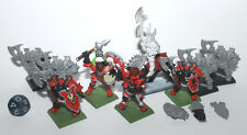 1990's Citadel GW Armored Knight Painted Metal & Plastic Marauder Lot
