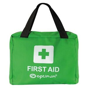 FIRST AID KIT MEDICAL EMERGENCY BAG 90 PIECE COMPACT FOR WORK HOME