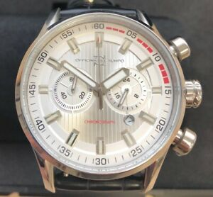 OFFICINA DEL TEMPO MADE IN ITALY OT1033-11000AN Chronograph with date