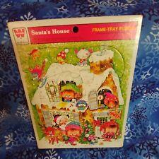 1974 Whitman's Santa's House Christmas Puzzle Vintage