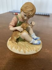 Lenox Days Of The Week Porcelain Figurine Friday's Child Boy With Dog
