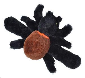 PLUSH SOFT TOY 22496 Cuddlekins Huggers GID Glow Eyes Spider Wild Republic 20cm