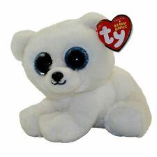 """TY Beanie 6"""" Plush Ari Polar Bear"""