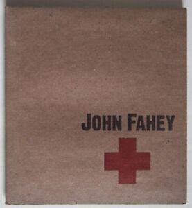 JOHN FAHEY / RED CROSS / JOHN FAHEY'S FINAL ALBUM / REVENANT No. 104 / Ltd EDTN
