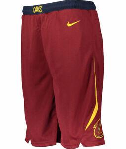 Mens Nike Cleveland Cavaliers NBA Swingman Basketball Shorts Team Red BNWT XL