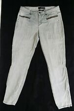Jag Jeans Mid Rise Jeggings with Zipper Details Pockets and Zip Up Legs Size 11