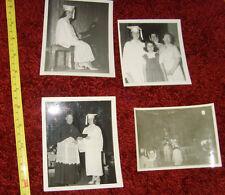 Vintage photographs High School Graduation Graduate Girl heels Pretty RETRO lot