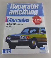 Reparaturanleitung Mercedes S-Klasse W 116 - 280 SE / 350 SE / 450 SE - ab 1972