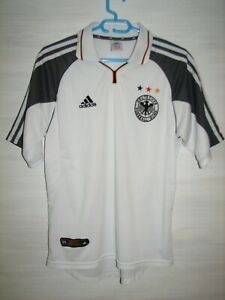 GERMANY TEAM 2000-02 HOME SHIRT ADIDAS JERSEY SOCCER SIZE M