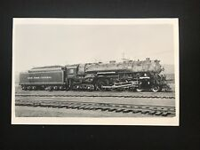 RPPC Photo Postcard New York Central Lines Railroad Locomotive 5297