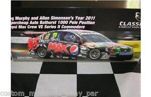 1:18 Classic Greg Murphy Allan Simonsen Bathurst Pole #11 Pepsi VE 2011 18489