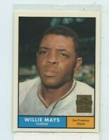 WILLIE MAYS 1996 Topps 1961 SAN FRANCISCO GIANTS  Commemorative #14