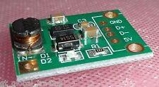 Celle solari STEP-UP Convertitore di tensione in 1 - 5v out 5v MAX. 500ma