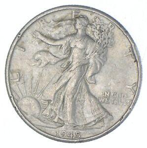 Better 1945-D - US Walking Liberty 90% Silver Half Dollar Coin Set Break *811