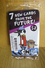 2 X Regular Show 7 New Cards From the Future! Fluxx Promo NEW SEALED! Loony Labs