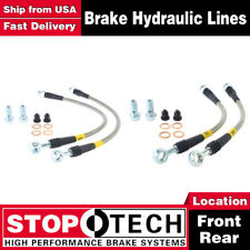 Stoptech Front + Rear Stainless Steel Brake Lines For 1998-02 Chevrolet Camaro