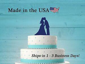 Bride and Groom, Wedding Cake Topper, Dancing Bride and Groom, Acrylic, LT1009