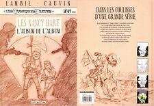 LAMBIL & CAUVIN - TUNIQUES BLEUES T47 bis - LES NANCY HART - DUPUIS (DL 2004)