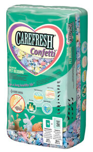 Carefresh Confetti 10 Litre Bedding - Small Animal/Rabbit Reptile Paper Bedding