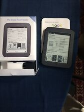 Barnes & Noble Nook Simple Touch 2GB, Wi-Fi, 6in eBook Reader - Black