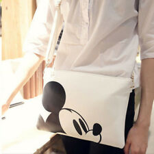 Women Messenger Bags Minnie Mickey Mouse Bag Leather Clutch Shoulder Handbags