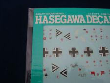GERMAN ME109E QG1 HASEGAWA DECAL DECALS 1:72