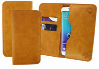 PU Leather Magnetic Slim Wallet Case Cover Sleeve Holder fits Doogee phones