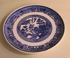 """""""Blue Willow"""" Pattern China 9 Inch Plate"""