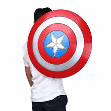 US FAST!Avengers Captain America Shield Iron Replica Cosplay Prop Bar Decoration