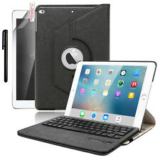 "For iPad 9.7"" 6th Gen/2018 5th/2017 Pro Air 2/1 PU Leather Case Cover + Keyboard"