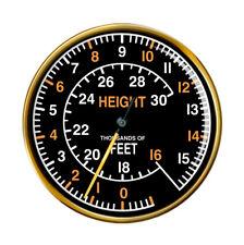 Spitfire Altimeter Pin Badge