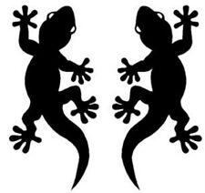 2 Gecko-Aufkleber-Wandtattoo, Deko, Bad, Kacheln, Auto