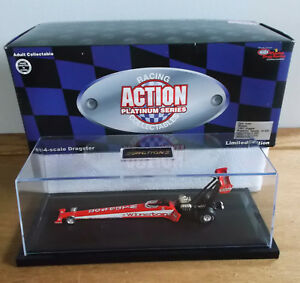 Gary Scelzi NHRA TF 1/64 Diecast _1997 WINSTON TOBACCO DRAGSTER in DISPLAY CASE
