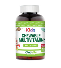 Kids Multivitamin Chewable Raspberry Tablets | 180 Sugar Free Tablets