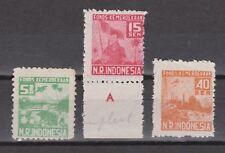 Indonesie Indonesia Japanese occupation Sumatra 15-17 MNH PF Japanse bezetting