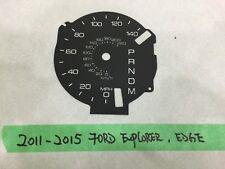 2011-2015 Ford Explorer EGDE Speedometer MPH Faceplate Overlay